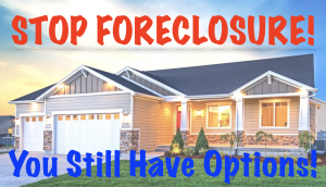 facing foreclosure what to do